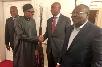 Saraki visits Buhari