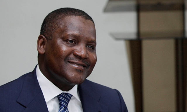 Dangote Tests Negative