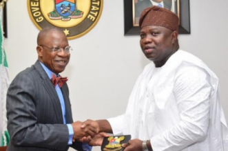 Lai Mohammed and Ambode.