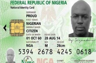 NIMC card issuance