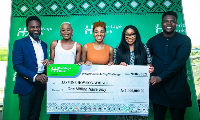 "Heritage Bank Promotes Creative Industry With Support For ""Rita Dominic  Acting Challenge"" 